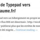 Transfert du blog de Typepad vers http://nicolasguillaume.fr/