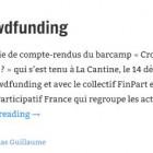 Définition du crowdfunding