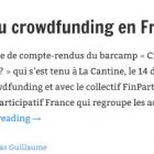 Réglementation du crowdfunding en France