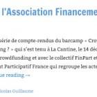 Présentation de l'Association Financement Participatif France