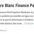 Edition 2013 du Livre Blanc Finance Participative