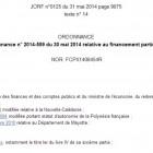 Publication au JO de l'ordonnance sur le financement participatif