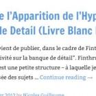 Impact de l'Apparition de l'Hyper-Connectivite sur la Banque de Detail (Livre Blanc Finthru)