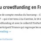 Réglementation du crowdfunding en France