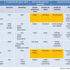 Scenarios d'adoption et d'enrolement de Square et des services de paiement electronique